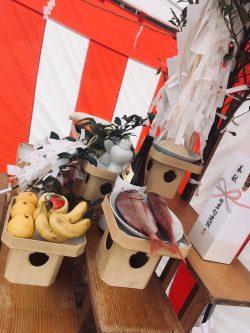 令和元年地鎮祭
