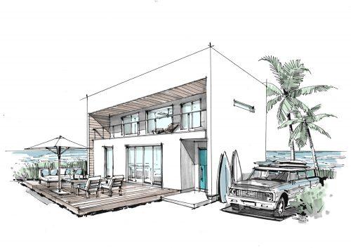 WTWモデルハウス新築工事